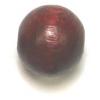 Wooden Bead Round 12mm Mahogany